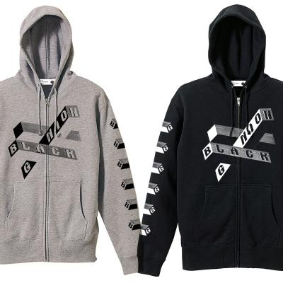 BLACK GANION(ブラックガニオン) / DRIP LOGO SWEAT PARKA/パーカー●TEE/190225
