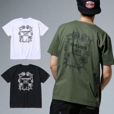 CLUCT クラクト Tシャツ S/S TEE ROSE/薔薇/(WHITE/ARMY/BLACK) ●SHT CLUCT2019SPRING/190506