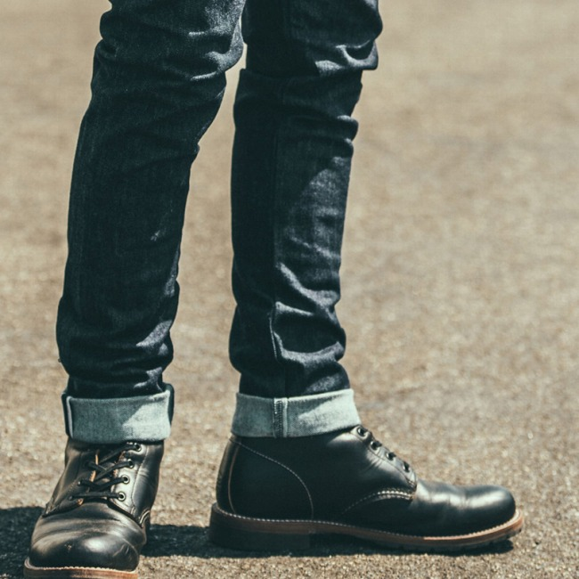 CRIMIE(クライミー) 編み上げコンバットブーツTHE LACE UP COMBAT BOOTS(BLACK) ●ACC CRIMIE2019定番