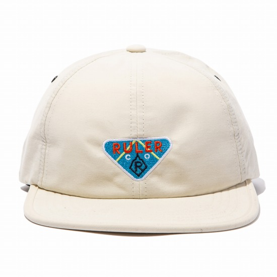 RULER(ルーラー) TRIANGLE 6 PANEL UNSTRUCTURED DAD CAPキャップ(3カラー)RULER2020SP200308