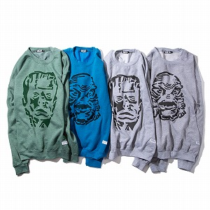 RULER(ルーラー)MONSTER & CREATURE SWEATSHIRTS スウェットRULER2020秋冬