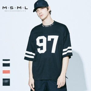 【予約商品】 MSML/FOOTBALL BIG TEE/M11-02A1-CS01 MSML2021SS
